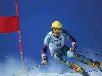 sci-slalom